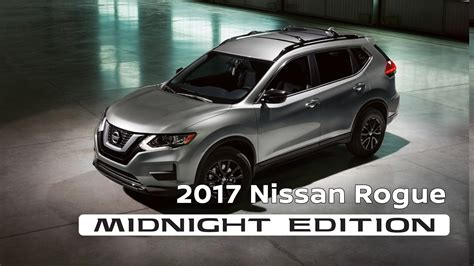 nissan rogue midnight edition 2017 nissan rogue midnight edition youtube
