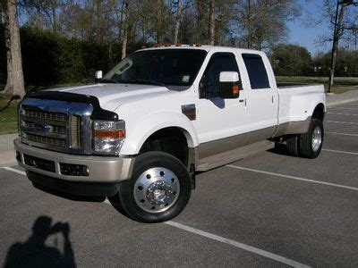 Ford F550 King Ranch by Find Used 2008 Ford F450 King Ranch 4x4 6 4 Powerstroke W