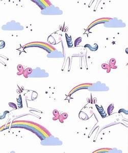 Unicorn Wallpaper - DecorSave Wallpapers