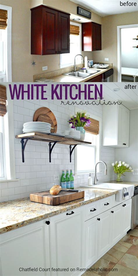 beautiful white kitchen cabinets remodelaholic diy plank ceiling in a beautiful white 4399