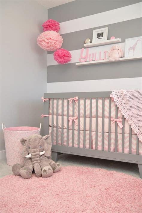 chambre fille gris chambre bébé fille