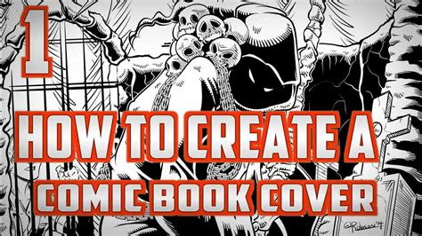 How To Make Cover by How To Create A Comic Book Cover Part 1