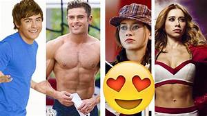 HIGH SCHOOL MUSICAL CAST / THEN & NOW 2016 - YouTube