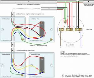 2 Way Switch  3 Wire System  Old Cable Colours