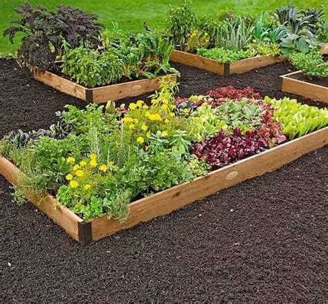 7359 greenes raised beds cedar raised garden bed kit review from greenes fence
