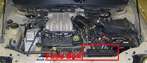 Fuse Box Diagram  U0026gt  Mercury Sable  2000