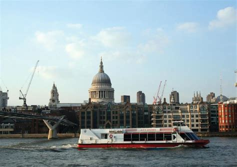 River Thames Boat Tour by Thames River Cruise With City Cruises From Westminster To