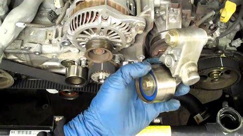 How Replace Sohc Subaru Timing Belt Youtube