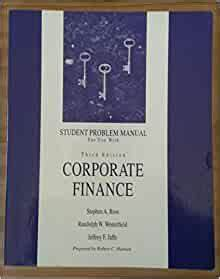 Amazon Com  Student Problem Manual For Use With Corporate