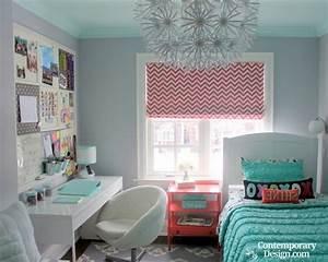 Room colors for teenage girl for Popular millennial teen girl bedroom ideas