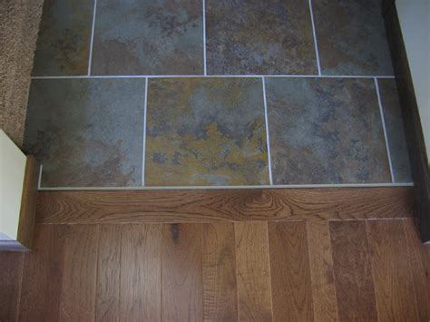 Fascinating Wood Floor to Tile Transition