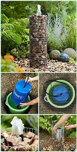 Diy, Garden, Fountain, Landscaping, Ideas, U0026, Projects, With, Instructions