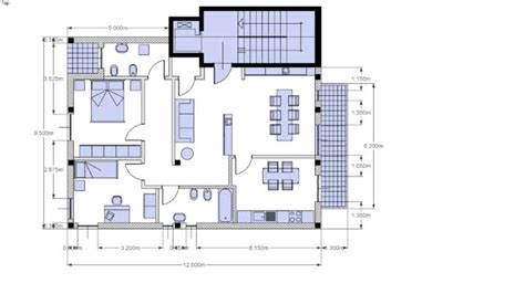 Piantine Appartamento by Pianta Appartamento 3d Warehouse