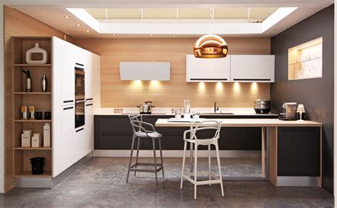 chaise cuisine design cuisine design sans poign 233 e fabrimeuble fabrication