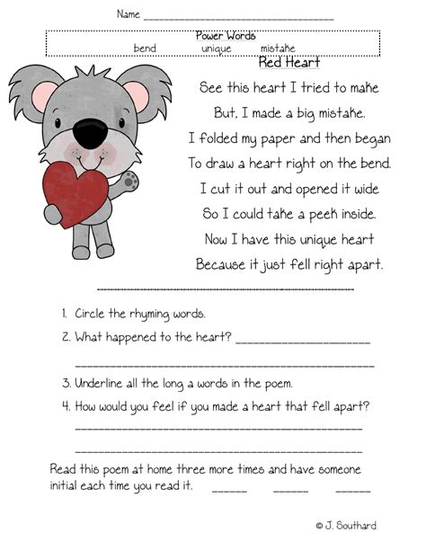 reading passages for 1st grade fluency october fluency
