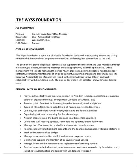Executive Administrative Assistant Resume by Sle Executive Administrative Assistant Resume 6