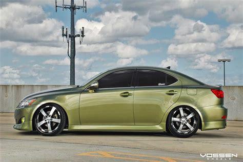 lexus is 250 custom wheels 2012 lexus is gets general rank with vossen rims