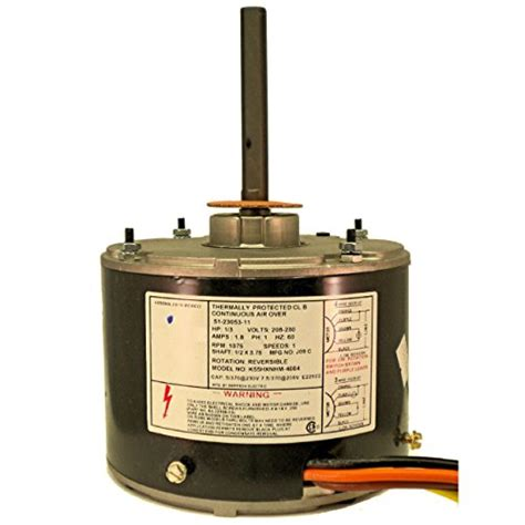 ac condenser fan motor replacement condenser fan motor 1 3 hp 1075 rpm onetrip parts direct
