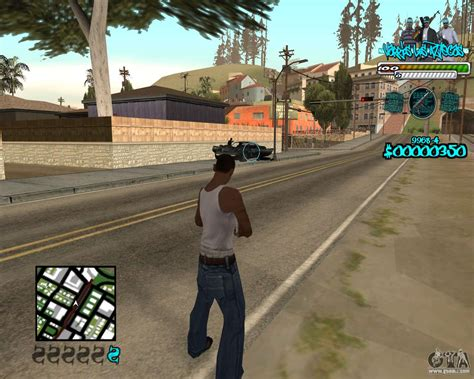 C-hud For Aztecas For Gta San Andreas