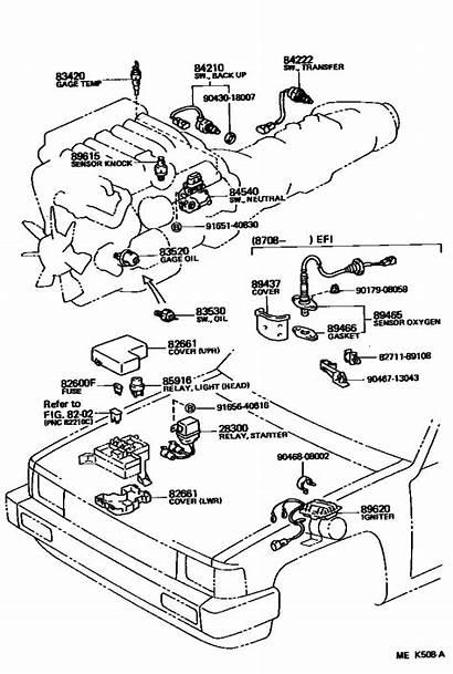 Diagram Coolant Temp Engine Sensors 3vze 22r