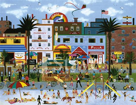 venice beach vibes  traditional puzzle stave puzzles