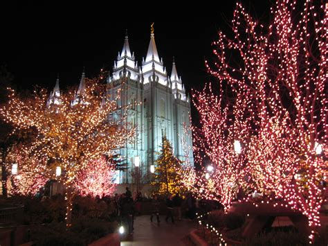 the trumpet stone christmas at lds temples