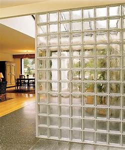 la rochere architecture du verre briques de verre With cloison en carreau de verre