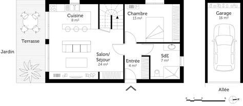 plan maison 4 chambres etage plan de maison 1 etage 3 chambres