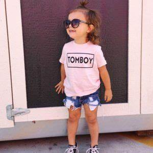 Tomboy graphic tee - Little Beans Clothing. Baby girl ...