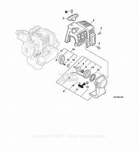 Echo Srm-210 S  N  S72812001001 - S72812999999 Parts Diagram For Engine Cover  Starter