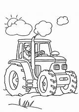 Coloring Pages Tractor Widely Farms Machines Remember Far Think Colors Need Help They sketch template