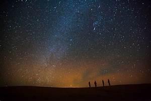 Starry night in Sahara Desert | Travel | Middle East ...