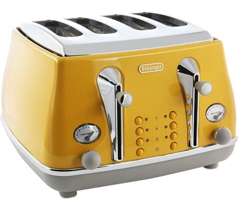 Delonghi 4 Slice Toaster by Buy Delonghi Icona Capitals Ctoc4003 Y 4 Slice Toaster