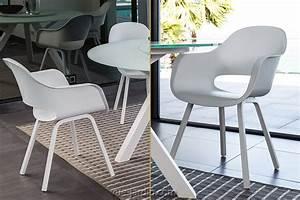 Fauteuil Plastique Jardin : fauteuil d 39 extrieur coque plastique blanche circle de talenti en vente sur vue ~ Teatrodelosmanantiales.com Idées de Décoration