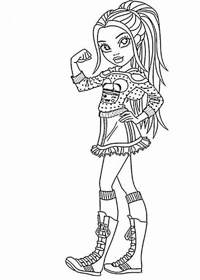 Coloring Pages Moxie Makeup Girlz Colouring Olds