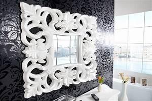 Wandspiegel Weiß Barock : opulenter barock spiegel venice wei antik wandspiegel ~ Lateststills.com Haus und Dekorationen