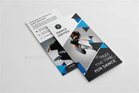 dance studio brochure templates  premium