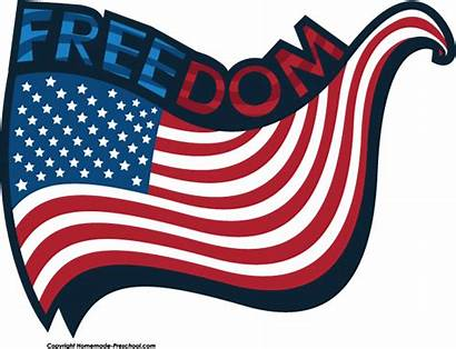 Freedom Clipart American Clip Flag Patriotic Flags