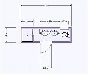mini salle de bain 480 m2 salle de bain pinterest minis With plan petite salle de bain en longueur