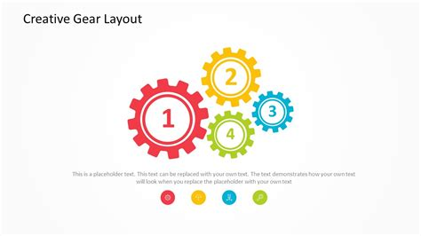 creative gears powerpoint template