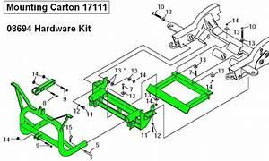 Hardware Kit For Meyer Mounting Carton 17111 - Gm 2500 - 3500 - -1999