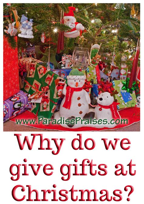 why do we give gifts at christmas