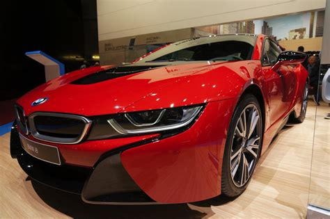 Bmw's I8 Is Even Prettier In Protonic Red  The Verge
