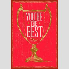 You're The Best Valentine's Day Card  Greeting Cards Hallmark