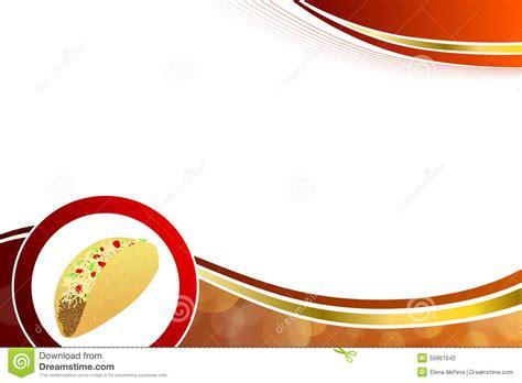 diseño flyer verde circulo template ejemplo amarillo rojo del marco de la onda del fondo del