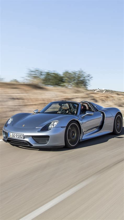 Porsche 918 Spyder Iphone 6/6 Plus Wallpaper And Background