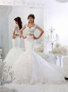 sparkly two pieces wedding dresses sexy mermaid pearl With sparkly wedding dresses with sleeves