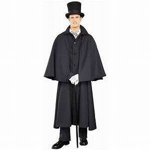 Details about Deluxe Dickens Capecoat Adult Mens Victorian