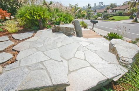 landscaping with flagstone flagstone paving ideas landscaping network