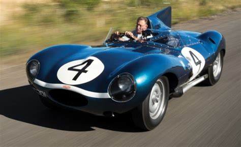 Le Mans–winning Jaguar D-type Headed For Auction